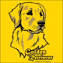 Golden Retriever Woodcut