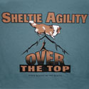 Sheltie Agility--Over the Top